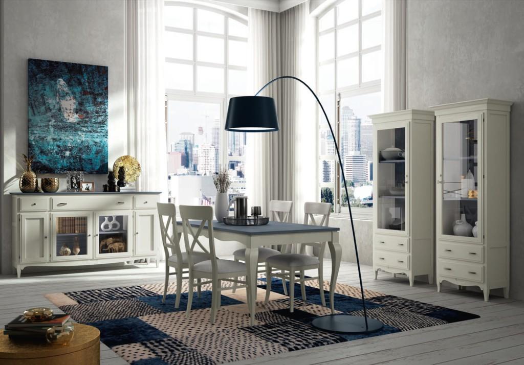 Muebles de sal n contempor neos boiseries a medida madrid - Salones estilo colonial moderno ...