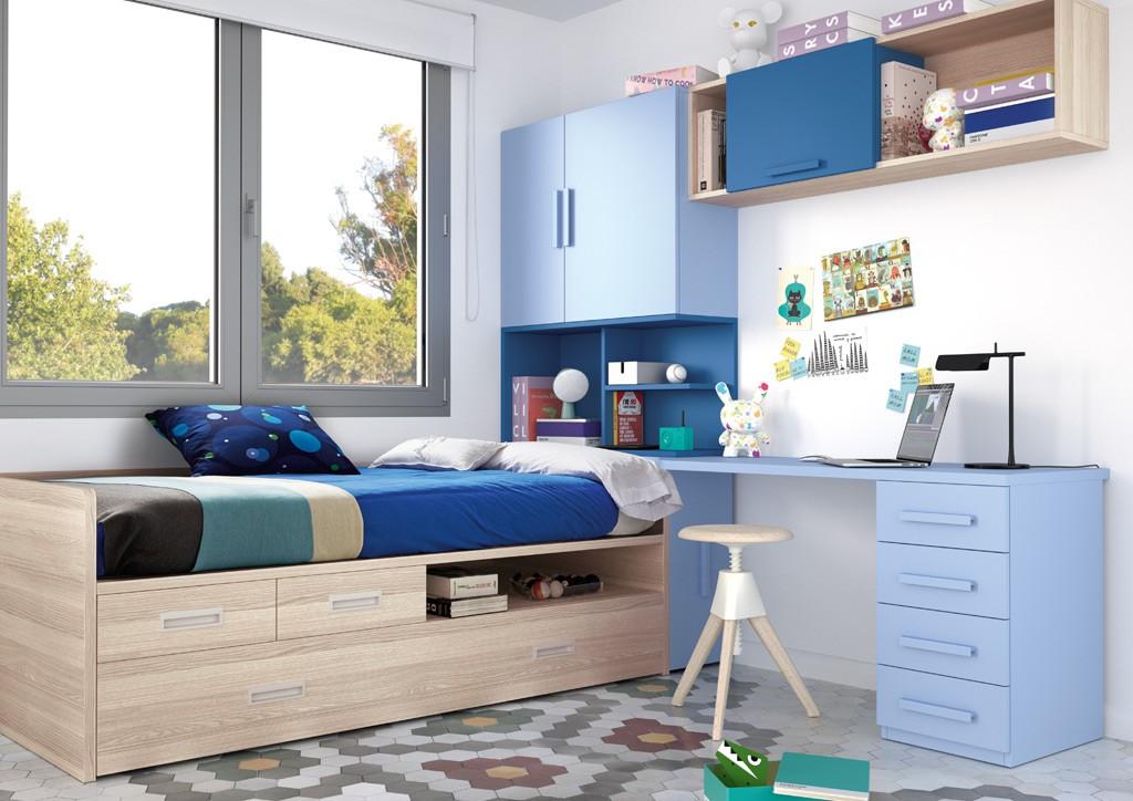 Dormitorios juveniles toledo mueble juvenil a medida madrid - Mobiliario juvenil moderno ...