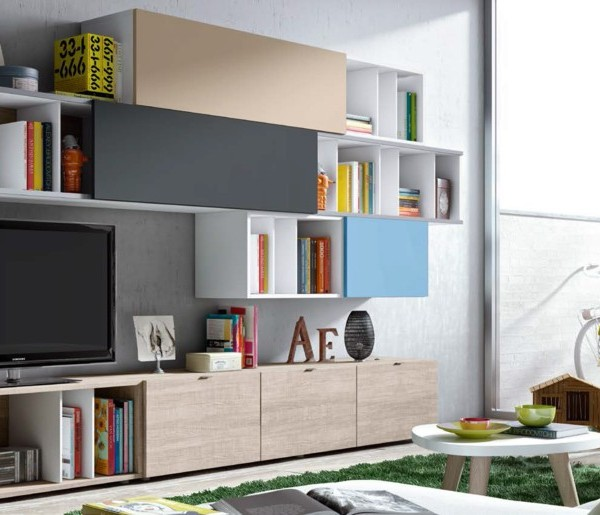 muebles salones a medida madrid