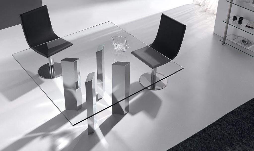 mesa de salón cristal