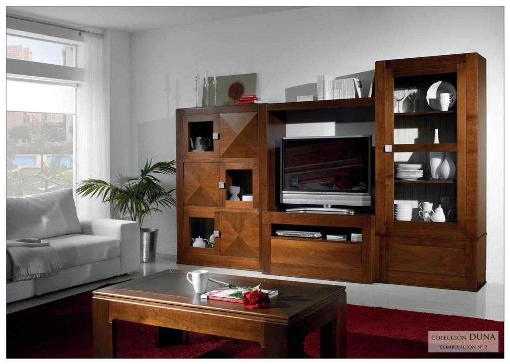 mueble salón pino toledo