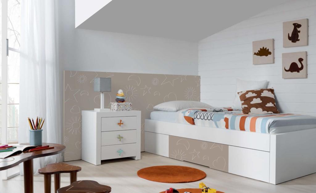 dormitorios niños madrid